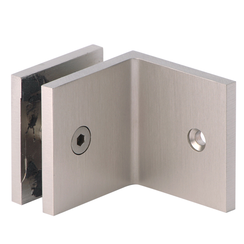 Bathroom Wall Mount L Type Shower Glass Door Bracket