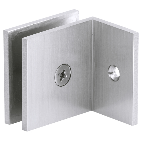 Factory Supply Shower Door Square Glass Clip L Shape