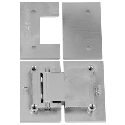 Square 90 Degree Glass To Wall Shower Door Hinge