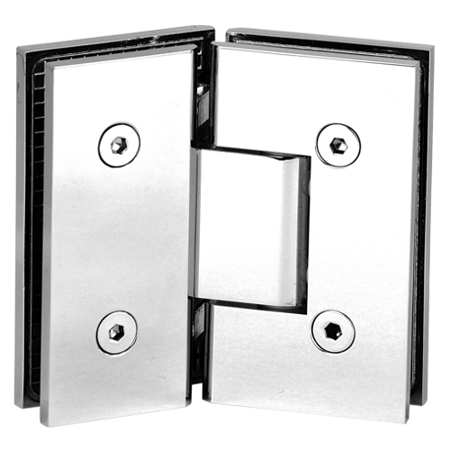 Glass Clamp Hinge 90 Degree Wall Mount Heavy Duty Hinge