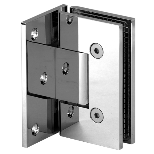 Bathroom Heavy Duty Shower Door Hinge,Square Heavy Duty Shower Hinge