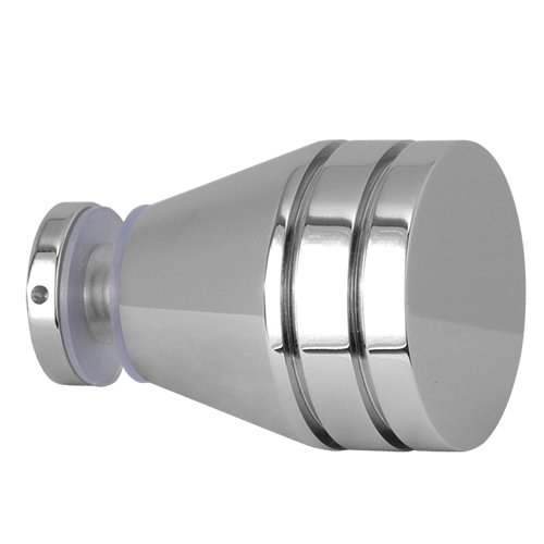 Single Sided Popular Designs Shower Glass Door Knobs