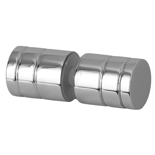 Ring Style Cylindrical Decorative Door Handle Knob Shower Glass Door Hardware