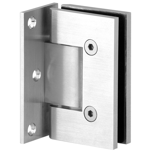 Glass to Wall Square Edge Shower Hinge