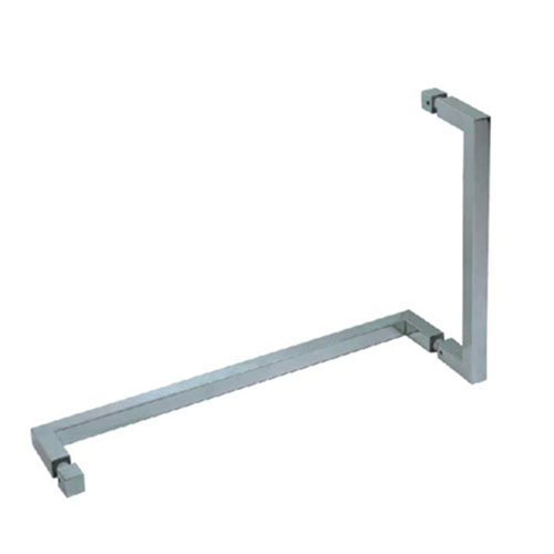 Square Pull Handle Towel Bar Combo