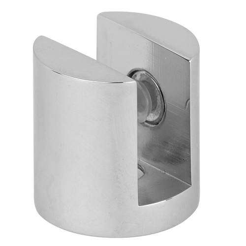 Round Floor Fix Corner Bracket Glass Clamp