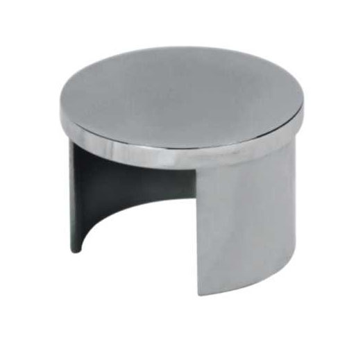 Stainless steel slot tube fitting pipe end cap