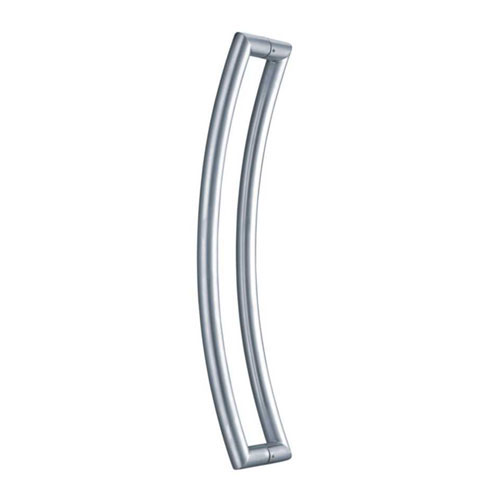 Tubular Back-to-Back Curved Pull Handle
