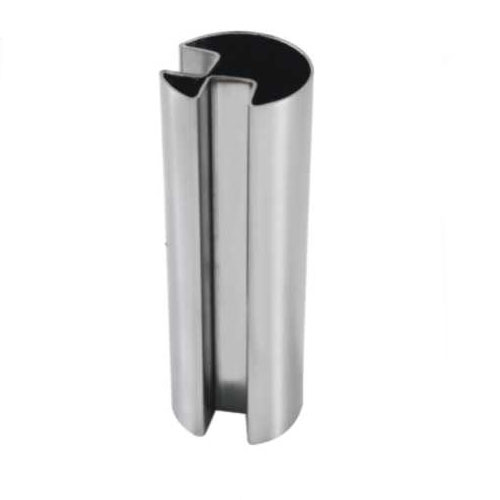 90 degree Double Slot Round Tube Stainless Steel Slot Pipe for Handrail