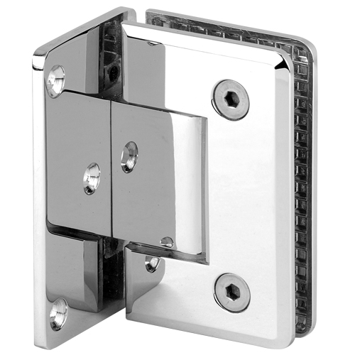 Stainless Steel & Brass 90 Degree Glass Shower Door Hinge with Best Factory Price