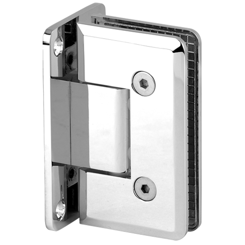 Beveled Heavy Duty Shower Hinge,Shower Door Hinge, Glass Door Clamp, Shower Door Handle