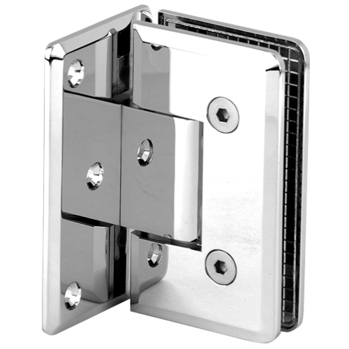 Shower Pivot Hinge for Glass Door,Beveled Heavy Duty Shower Hinge