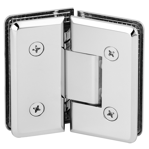 Brass 135 Degree Shower Glass Door Hinge,Beveled Heavy Duty Shower Hinge