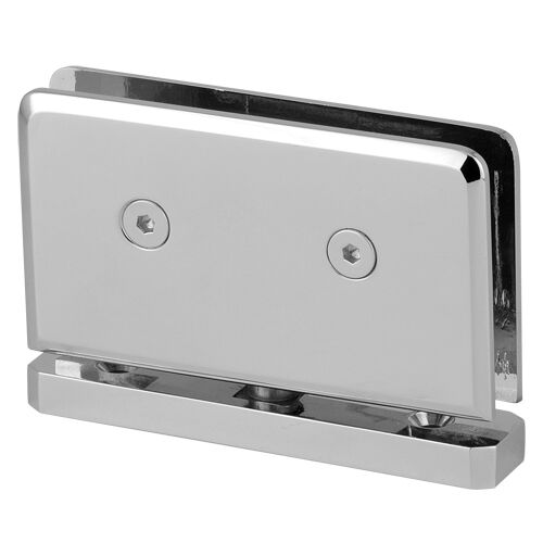 360 Degree Shower Glass Door Pivot Hinge,Beveled Heavy Duty Shower Hinge