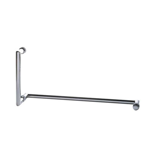 Mitered Corner Pull Handle e Towel Bar Combo com arruelas de metal
