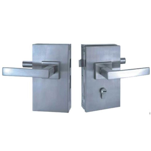 Commercial Double Side Glass Door Lock For Double Door