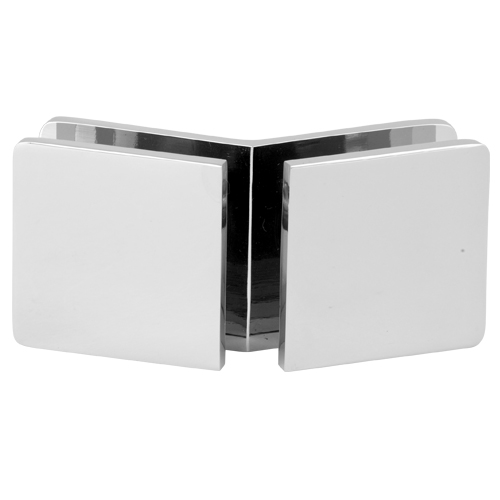 135 Degree Square Glass Clamp