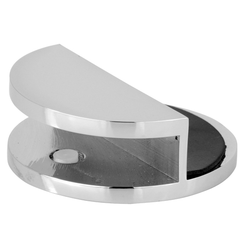180 Degree Round Glass Shelf Bracket