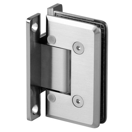 Beveled Heavy Duty Adjustable Shower Hinge,Shower Door Hinge, Glass Door Clamp, Shower Door Handle
